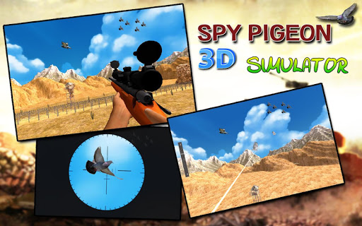 間諜鴿子3D模擬器