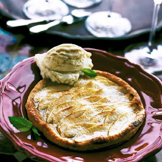 Puff Pastry Apple Tarts Glazed with Honey Recipe | Epicurious.Com Recipe