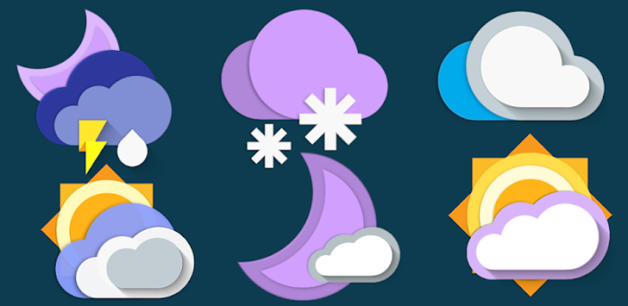 Picasso Chronus Weather Icons