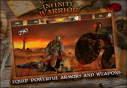 Infinite Warrior Remastered- screenshot thumbnail