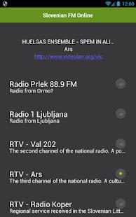 Slovinský FM Online - náhled