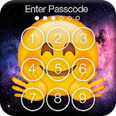 Emoji Space PIN Screen Lock