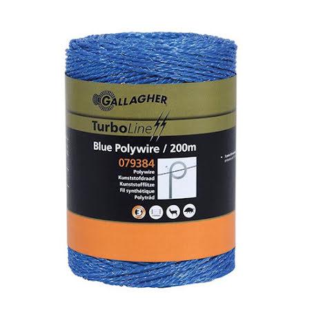 TurboLine Polytråd blå 200m