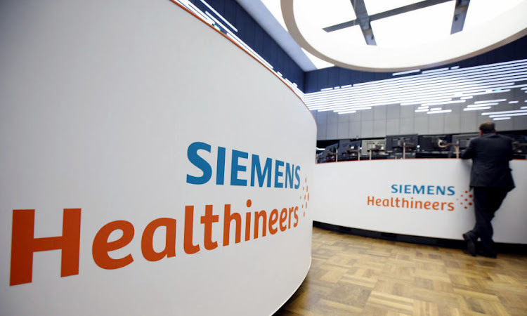 Siemens Healthineers. File picture: BLOOMBERG VIA GETTY IMAGES/ALEX KRAUS.