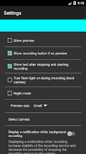 App Background video recording camera APK for Windows Phone