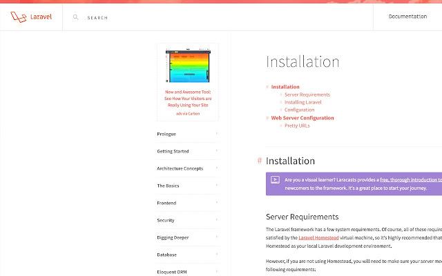 Laravel Documentation Expander
