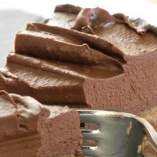 Raw Chocolate Cheesecake.