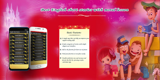 Best Short English Stories App Report on Mobile Action - App