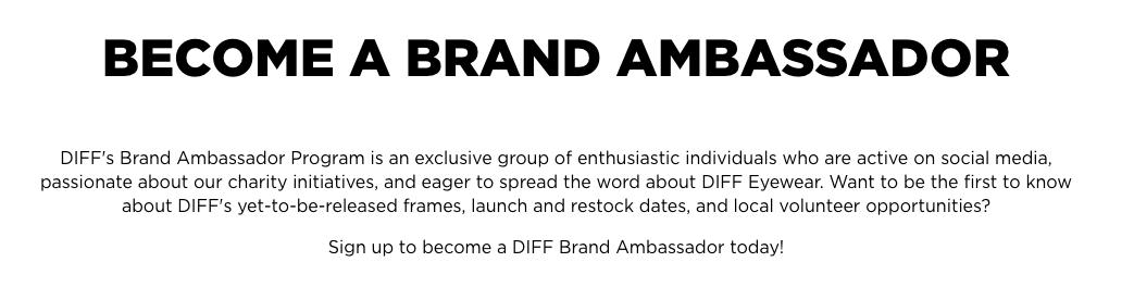 Diff Eyewear Marketing Strategy - Broken Down by Trend