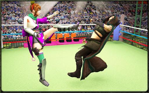Incredible Monster Superheroes Ring Battle  screenshots 12