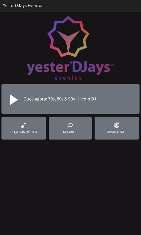 YesterDJays Eventos- screenshot