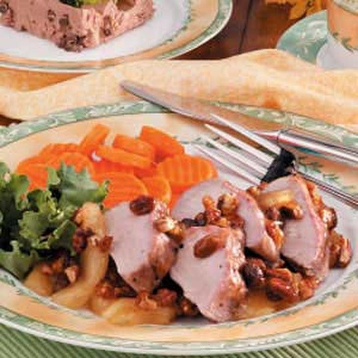 Autumn Pork Tenderloin Recipe