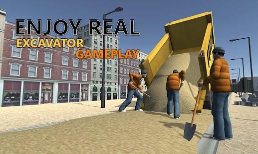 Sand-Excavator-Truck-Sim-3D 6