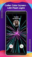 screenshot of Caller Color Screen - LED Flash Light
