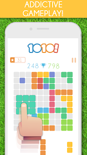 1010 Block Puzzle Game MOD (Purchased All Topics) 1