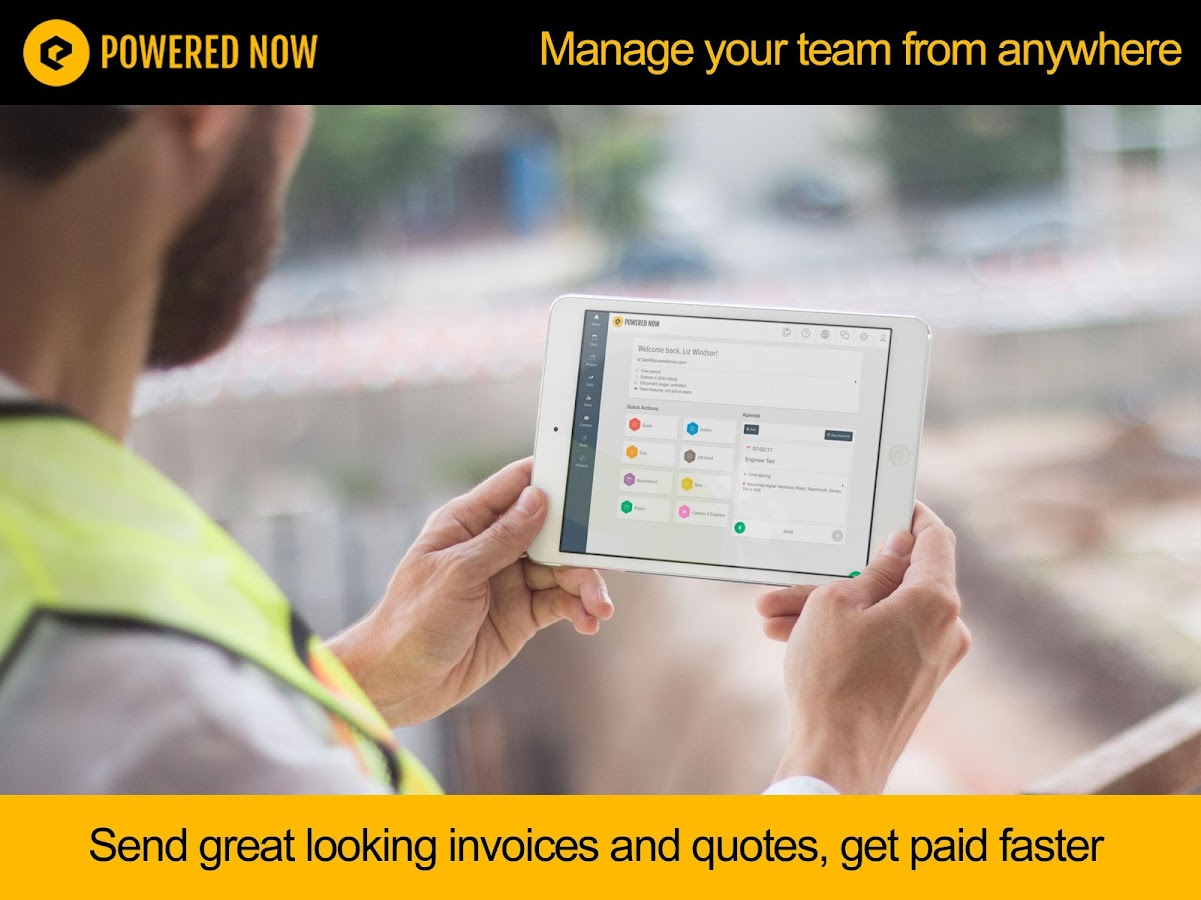 Receipts Food Powered Now Invoice App  Android Apps On Google Play Commercial Invoice Blank with Contractor Receipt Template Pdf Powered Now Invoice App Screenshot Sales Receipt Definition Word