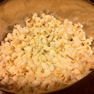 Homemade Popcorn.