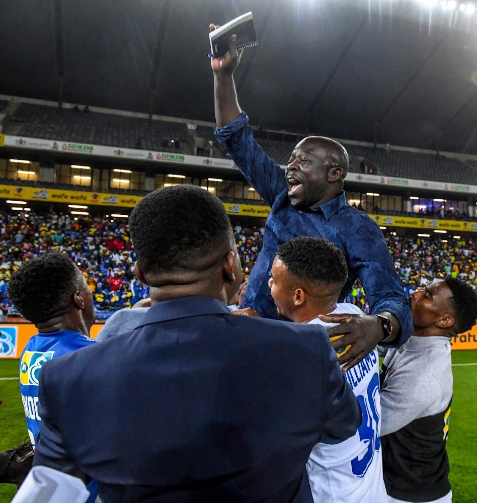 Die SuperSport-afrigter, Tembo, wy sukses aan Gabuza en diegene wat hom versorg het