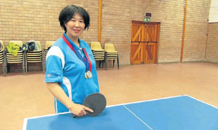 Port Elizabeth's Li Xiuyan is aiming to make her mark on the Nelson Mandela Bay Open this weekend after her success in the national veterans' table tennis championships