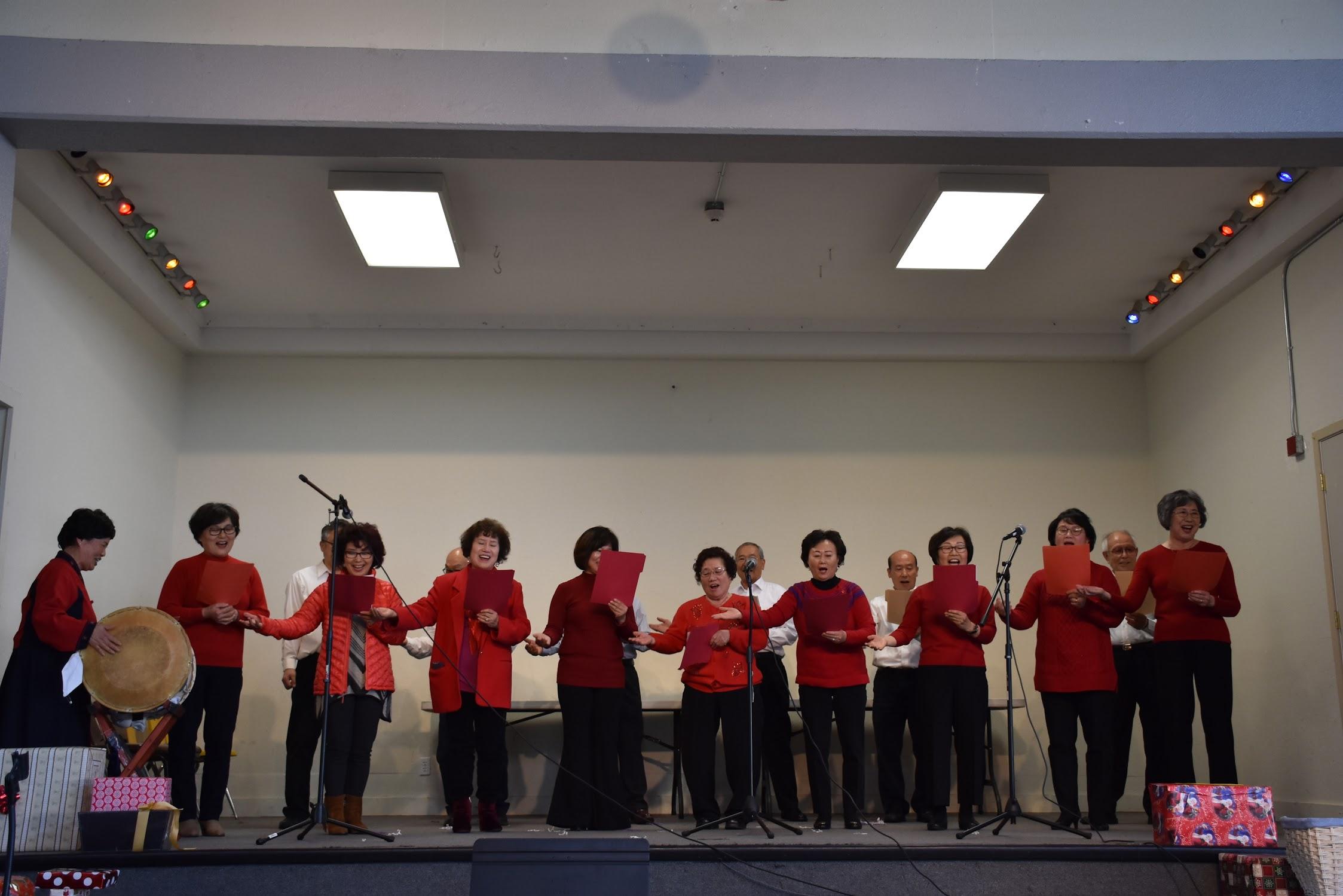 2018년 성탄절 미사 및 장기자랑 - 오클랜드 성 김대건 한인 공동체
