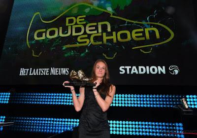 Le premier Soulier d'Or féminin de l'histoire attribué à Tessa Wullaert !
