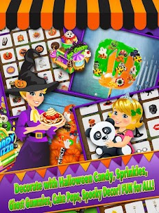 Halloween Fair Food Maker Game - Make Candy Donuts - Android Apps ...