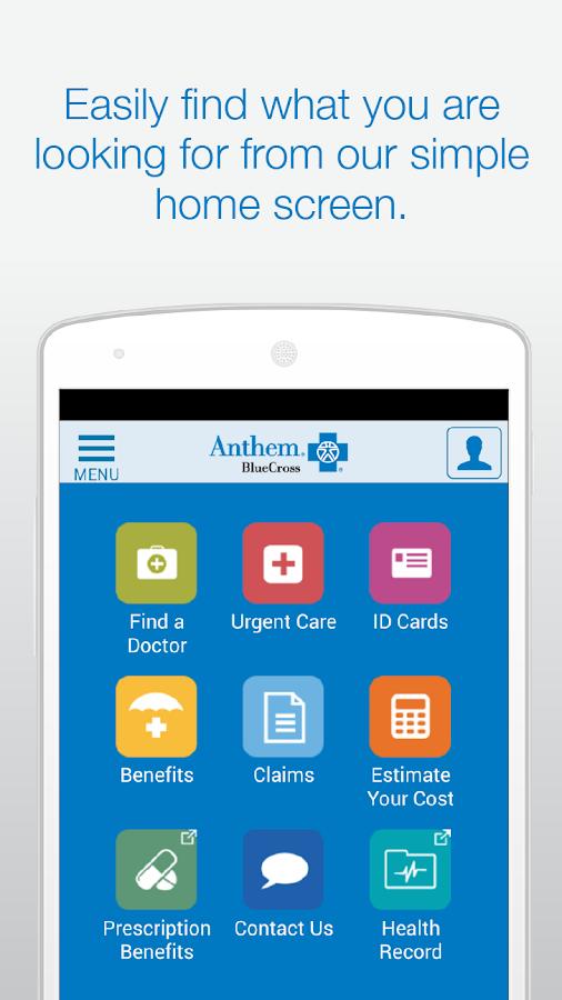 Anthem Blue Cross- screenshot