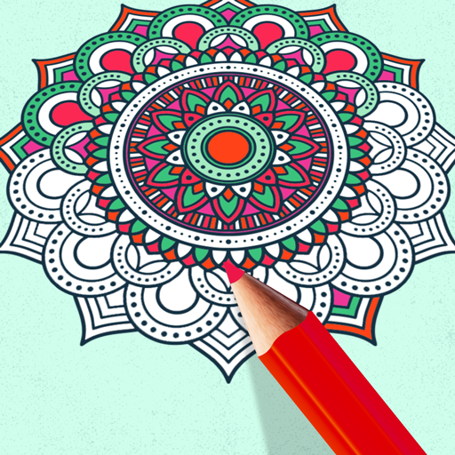 Coloring Game Mandala For Adults Google Play De Uygulamalar