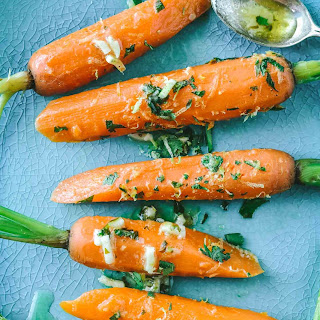 Easy Steamed Carrots with Lime Gremolata Recipe