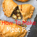 How to prepare meat pie icon