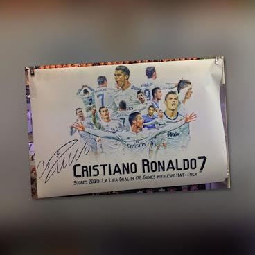 C朗印簽24寸絲質海報 #CristianoRonaldo