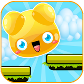 Cute Jelly Jump Game For Kids