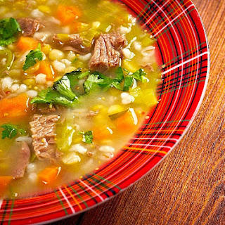 The Hirshon Outer Hebrides Scotch Broth with Pepper Dulse.