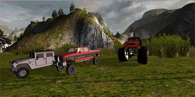 4x4 Offroad Monster Truck 3D- screenshot