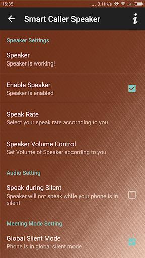 Smart Caller Speaker