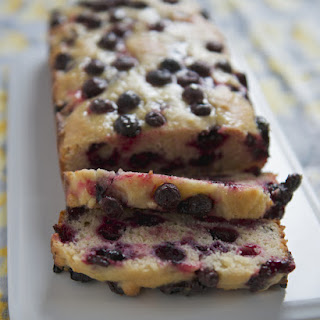 Blueberry, Lemon and Sour Cream Bread
