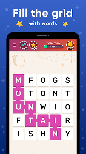Word Catcher. Fillwords: find the words screenshots 1