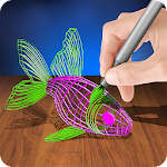Brush 3D Simulator Icon