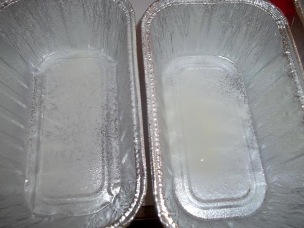 Preheat oven to 350 degree F. I used 3 mini loaf pans or can...
