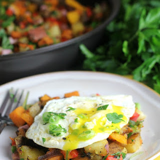 Healthy Three Potato Hash