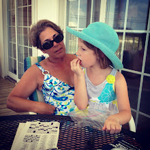Photo: mom and susannah, my youngest first cousin