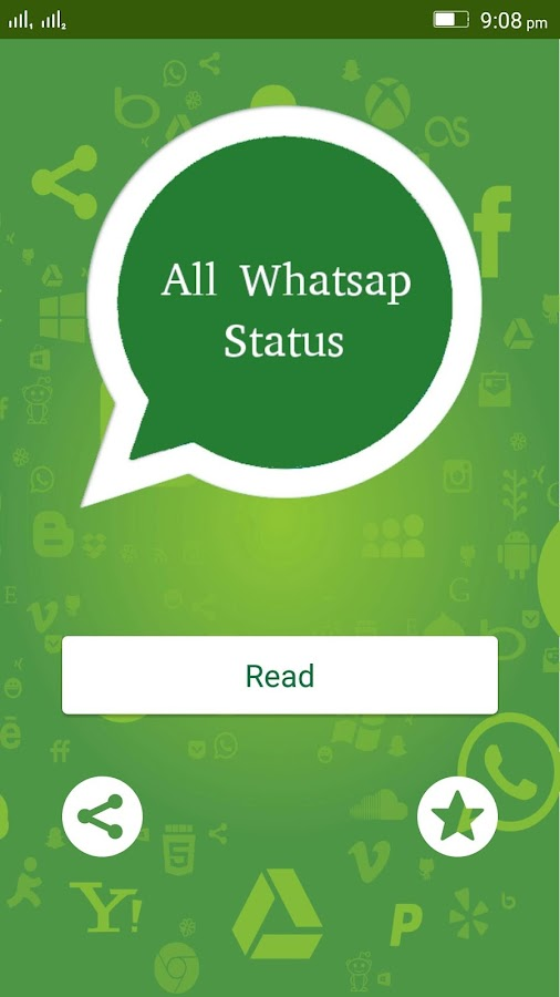 Screenshots of All Whatsap Status for Android