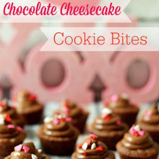 Chocolate Cheesecake Cookie Bites