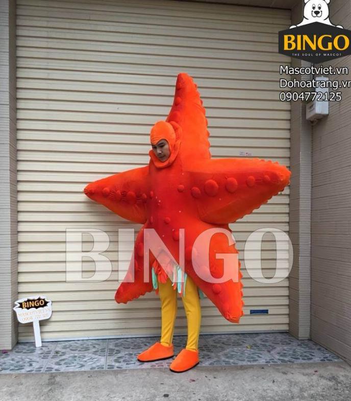 Mascot Sao Biển