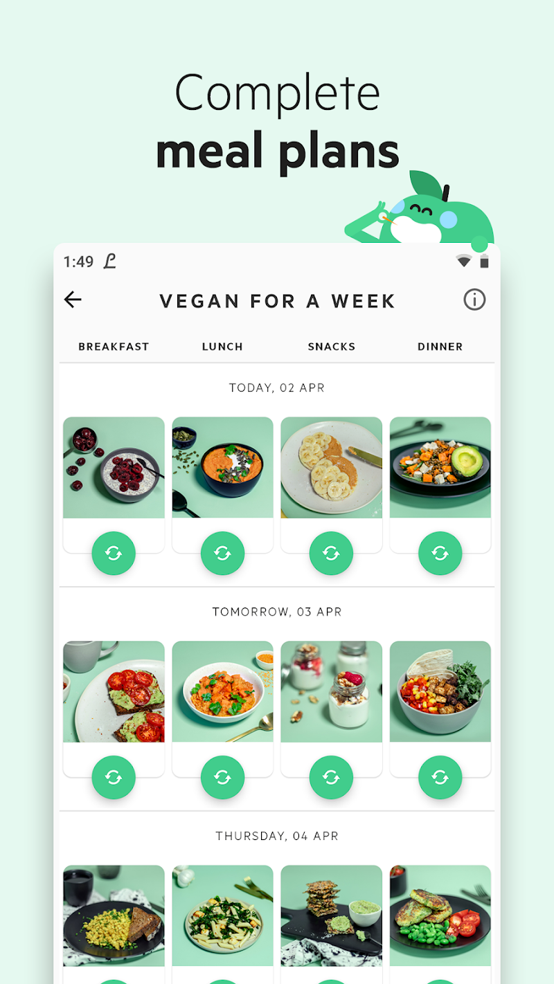 Lifesum - Diet Plan, Macro Calculator & Food Diary Screenshot 5