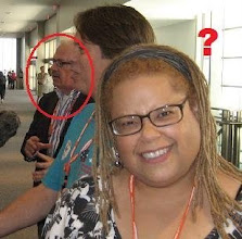 Photo: Now what was conservative former Rep. Bob Barr doing at Netroots Nation?