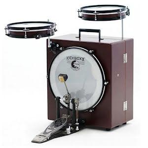 Toca Kickboxx Suitcase Drum Set - Resväsketrumset!!!