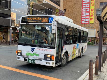 盛岡市都心循環バスでodecaの実証実験