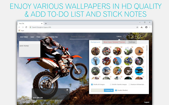 Motocross Wallpaper HD Race-Stunt-Dirt Bike