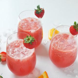 Watermelon Strawberry Sangria Recipe